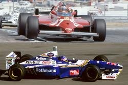 Gilles Villeneuve et Jacques Villeneuve