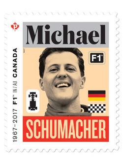 Michael Schumacher stamp