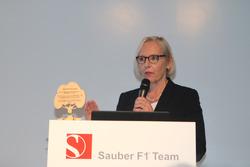 Christine Uphoff, Sauber F1 Team, Head of Sales & Marketing