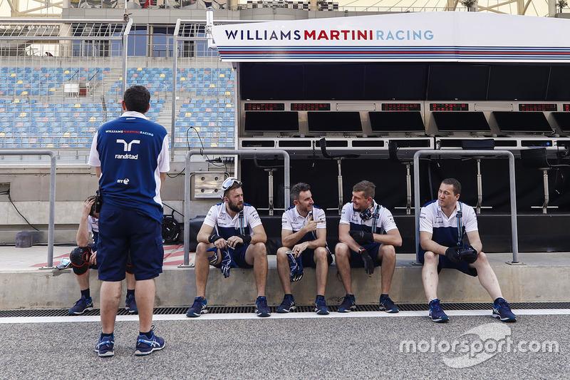 Команда Williams на піт-лейн