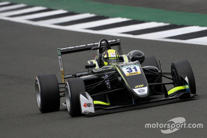 Formel-3-EM: Carlin, Dallara-Volkswagen F317