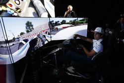 Lance Stroll, Williams simülatörde Circuit Gilles Villeneuve'ü turluyor