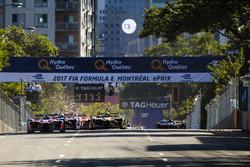 Felix Rosenqvist, Mahindra Racing,  líder al inicio de la carrera