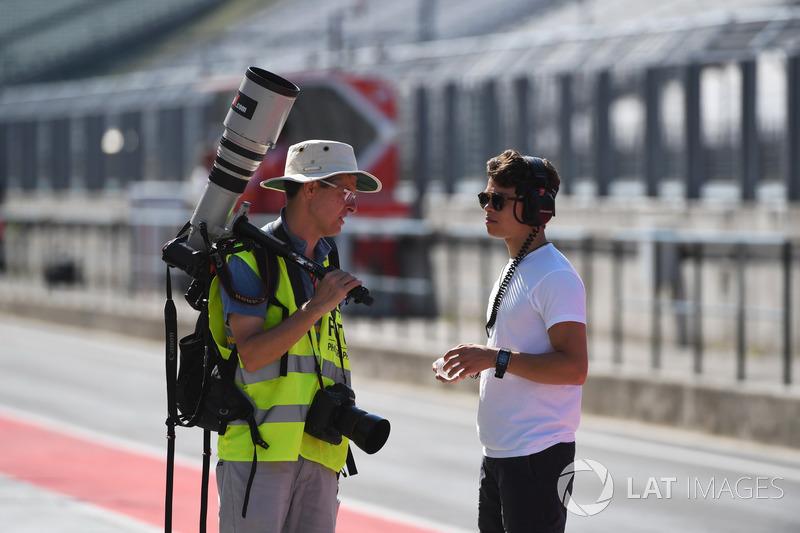 Photographer Nyck De Vries, McLaren