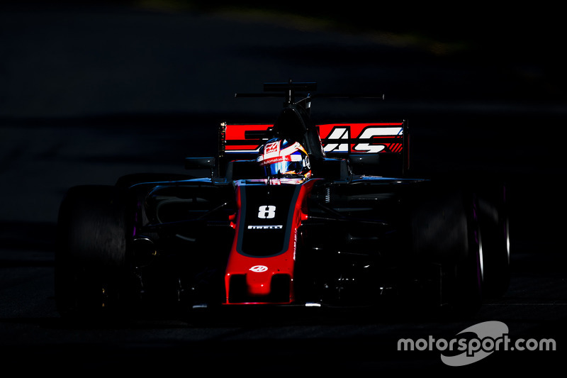 5 puntos: Romain Grosjean