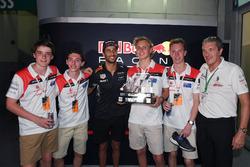 F1 in Schools winners celebrate, Daniel Ricciardo, Red Bull Racing