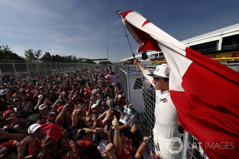 Гран Прі Канади. Ленс Стролл, Williams, фанати