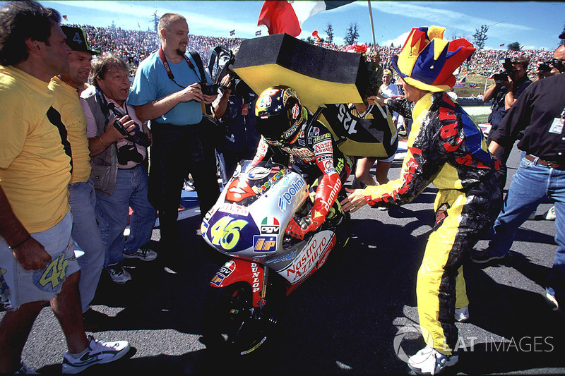 Brno 1997 - Campeón del mundo de 125cc un año después de su primera victoria