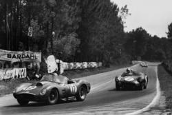 Ricardo Rodriguez, Andre Pilette, Ferrari 250 TR59; Jim Clark, Roy Salvadori, Aston Martin DBR1/30