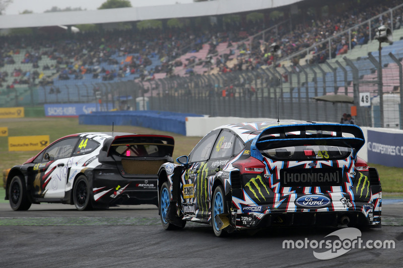 Timo Scheider, MJP Racing Team Austria, Ford Fiesta ST, Ken Block, Hoonigan Racing Division, Ford Fo