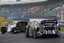 Timo Scheider, MJP Racing Team Austria, Ford Fiesta ST; Ken Block, Hoonigan Racing Division, Ford Focus RSRX