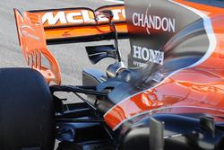 McLaren MCL32 monkey seat detail