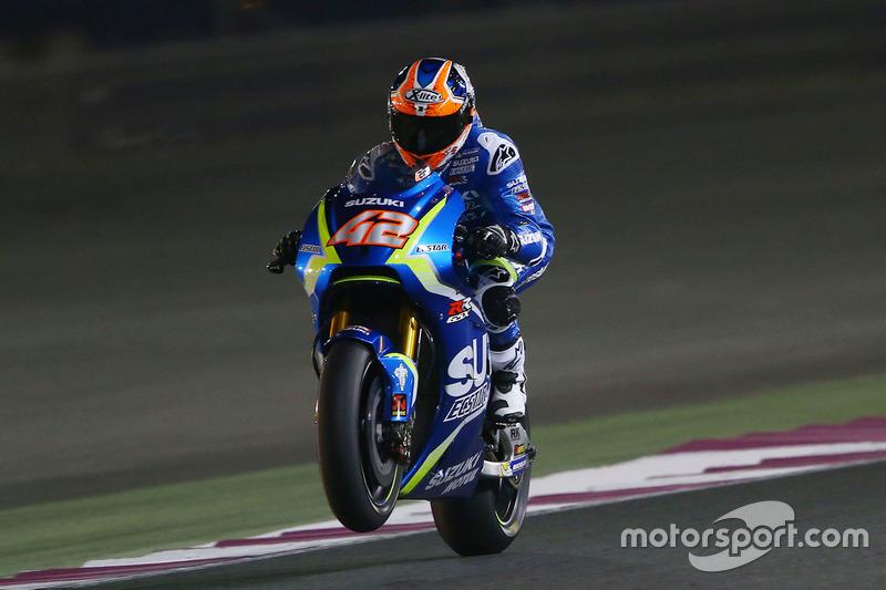 15. Alex Rins, Team Suzuki MotoGP, +1,032