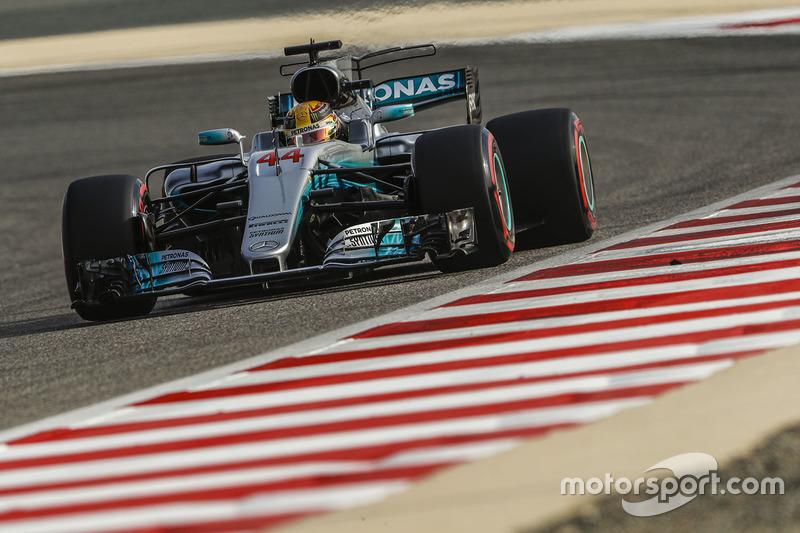 2: Льюис Хэмилтон, Mercedes AMG F1 W08