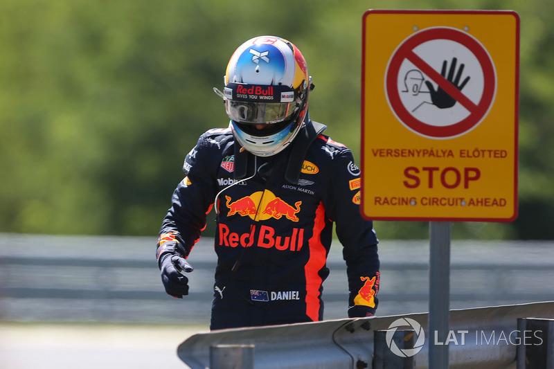 Гран Прі Угорщини. Даніель Ріккардо, Red Bull Racing RB13