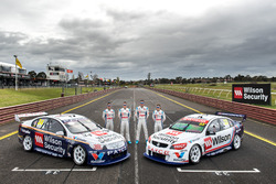 Garth Tander, James Golding, James Moffat, Richard Muscat, Garry Rogers Motorsport Holden