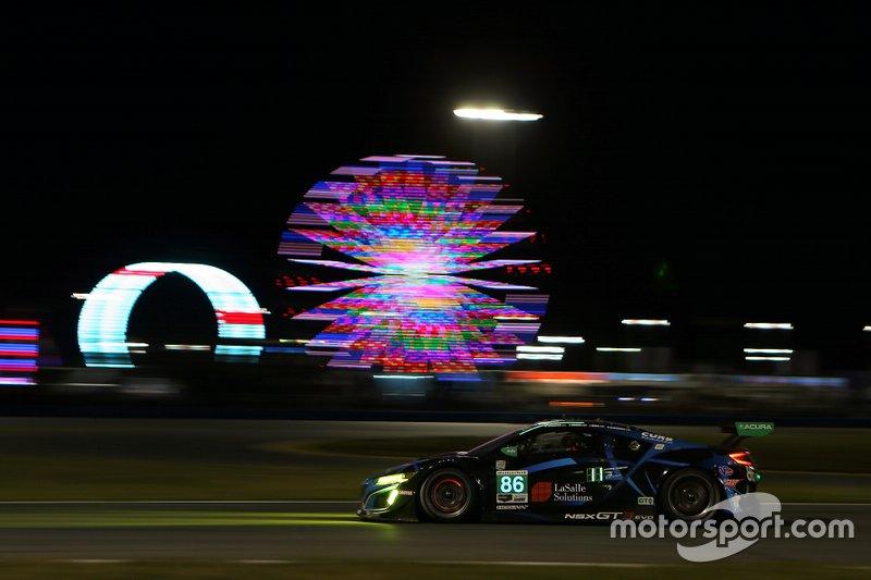 #86 Meyer Shank Racing w/ Curb-Agajanian Acura NSX GT3: Mario Farnbacher, Trent Hindman, Justin Marks, AJ Allmendinger