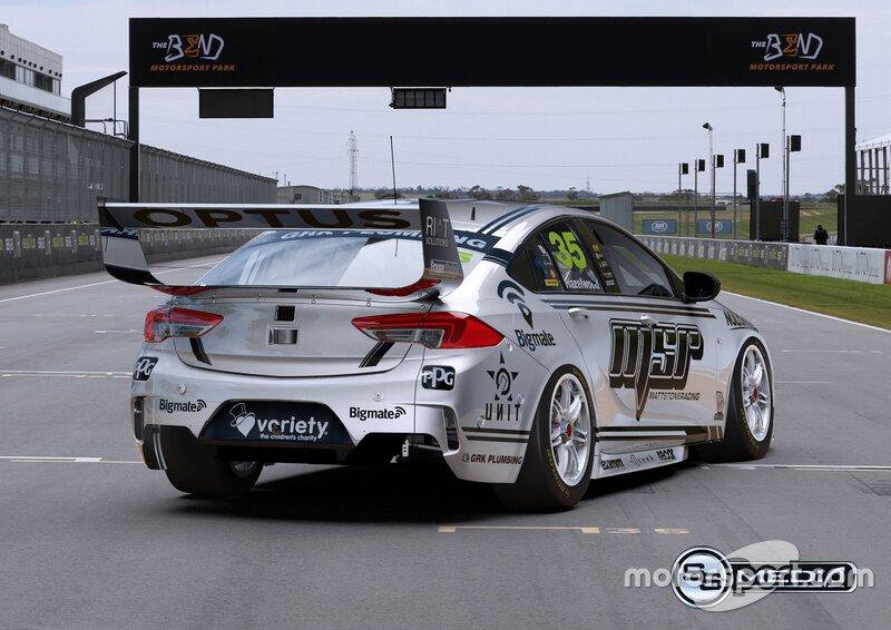 Matt Stone Racing livery unveil
