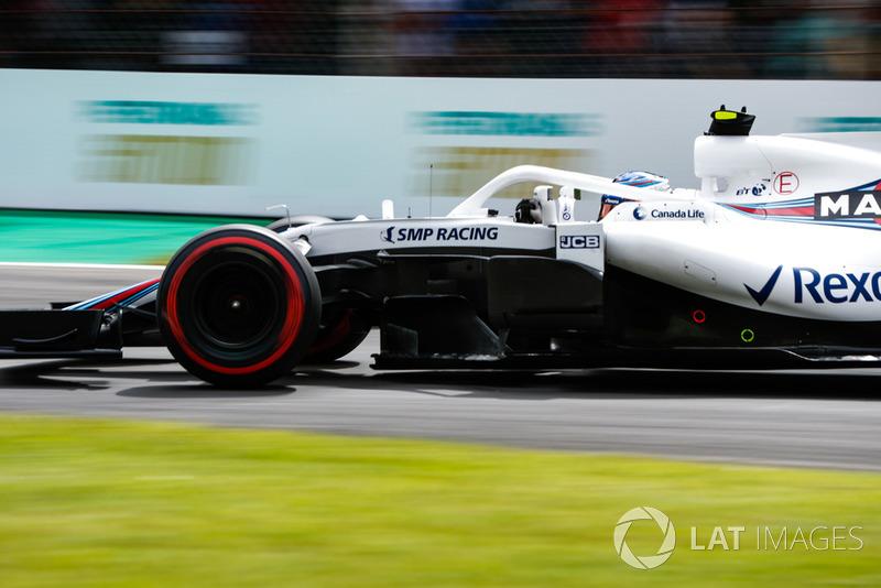 12: Sergey Sirotkin, Williams FW41, 1'21.732