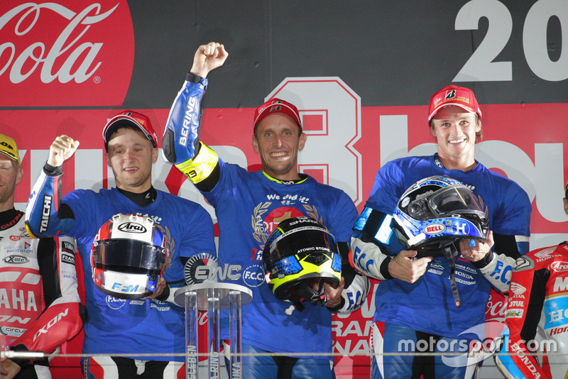 Mundial de Resistencia FIM 2017/2018: #5 F.C.C. TSR Honda France, Josh Hook, Freddy Foray, Alan Techer