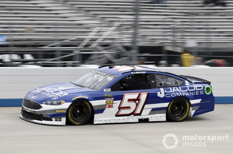 36. B.J. McLeod, Rick Ware Racing, Ford Fusion Jacob Companies