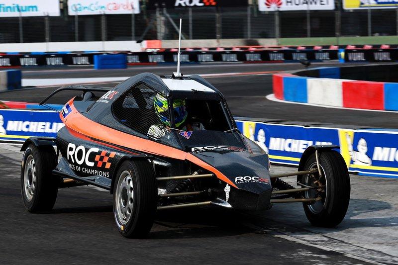 Benito Guerra pilote la ROC Car