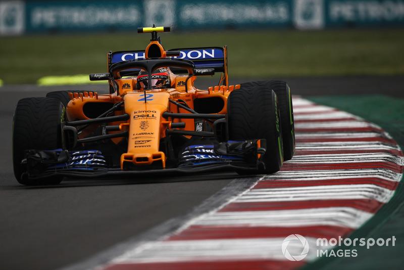 16. Стоффель Вандорн, McLaren — 12