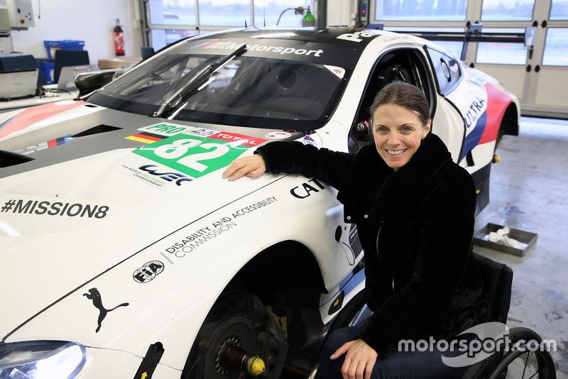Натали Макглойн, глава Комиссии ограниченных возможностей FIA
