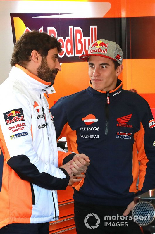 Marc Márquez, Repsol Honda Team, Santi Hernández, Repsol Honda Team