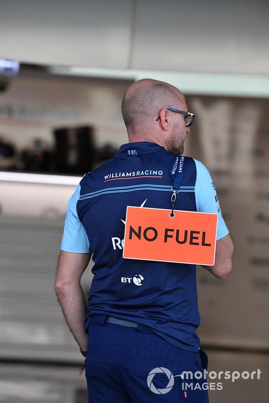 Механік Williams Racing