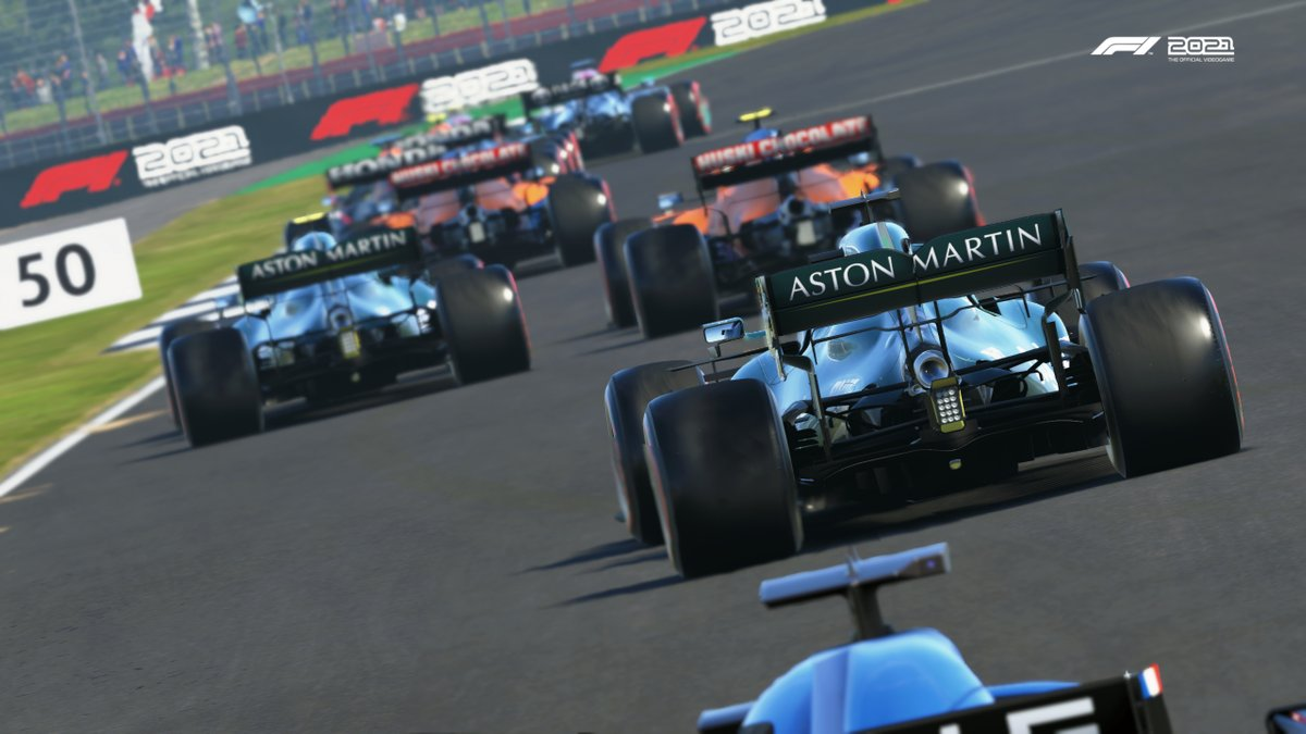 Tangkapan layar F1 2021