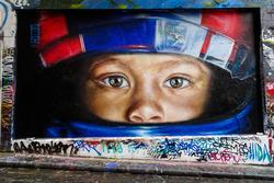 رسم للفورمولا 1 فى شوارع ملبورن