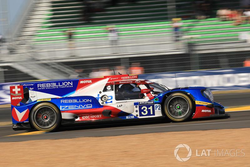 Bruno Senna teve problemas na segunda metade da prova e finalizou apenas na 16ª posição na classe.