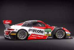 Design für den Porscher GT3-R von Herberth Motorsport
