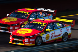Fabian Coulthard, Team Penske Ford, Scott McLaughlin, Team Penske Ford