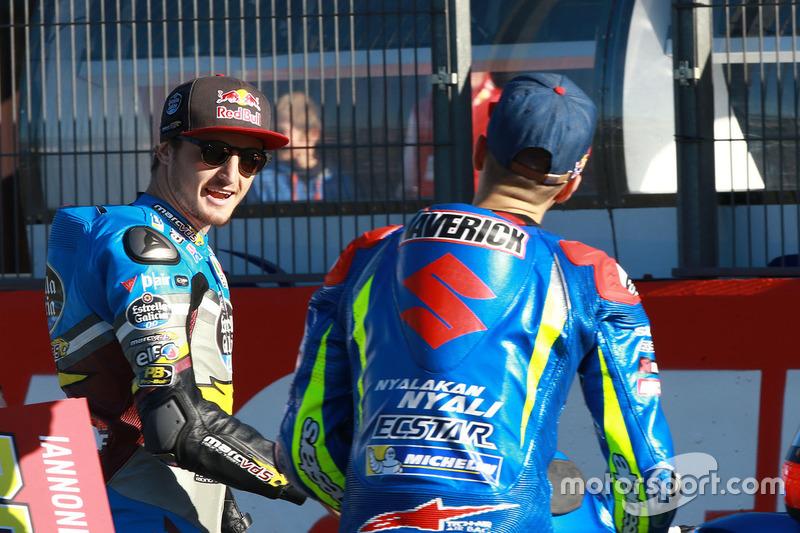 Jack Miller, Estrella Galicia 0,0 Marc VDS; Maverick Viñales, Team Suzuki Ecstar MotoGP