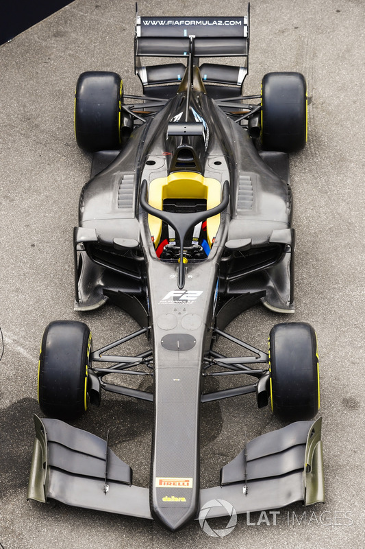The new 2018 F2 car