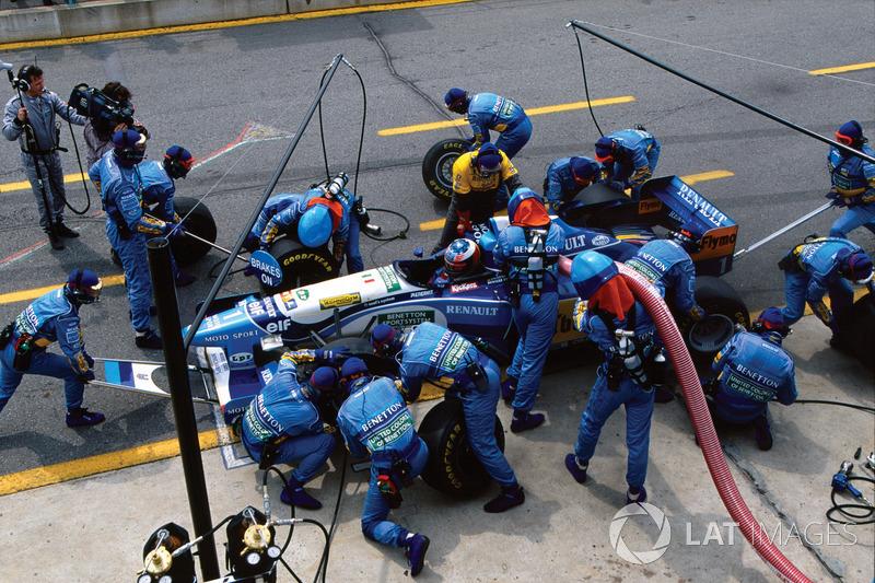1995 Kanada GP, Benetton B195