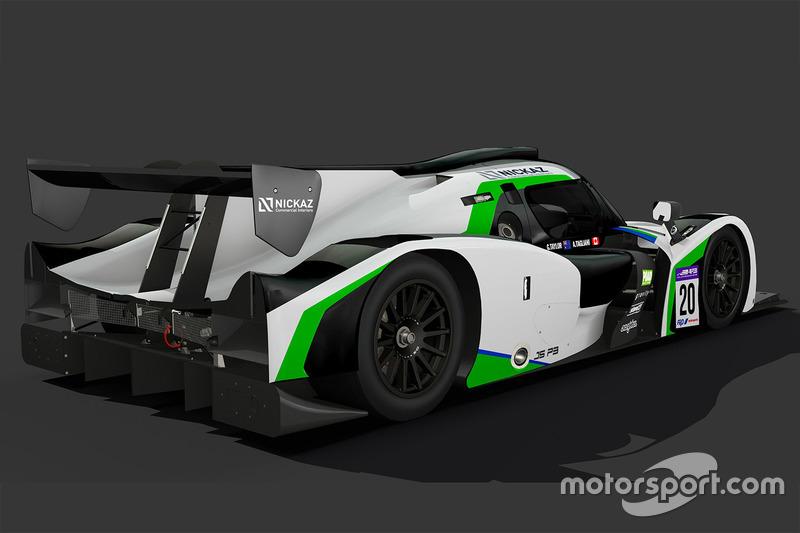FRD LMP3: презентация Craft-Bamboo Racing