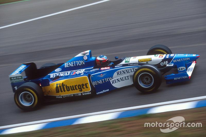 15º: Benetton B195 (1995)