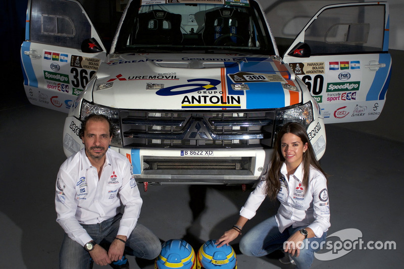 Cristina Gutierrez, Pedro Lopez, Mitsubishi