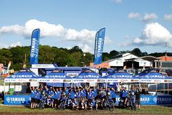 Yamaha Official Rally Team, team photo