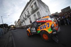 #340 KH-7 Rally Team, Mitsubishi: Isidre Esteve, Txema Villalobos