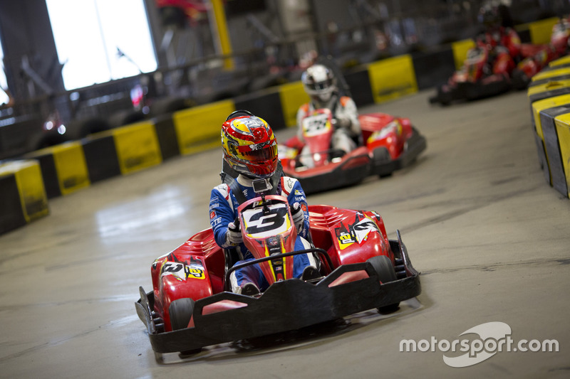 Robin Frijns, Amlin Andretti Formula E Team lidera a Jérôme d'Ambrosio, Dragon Racing