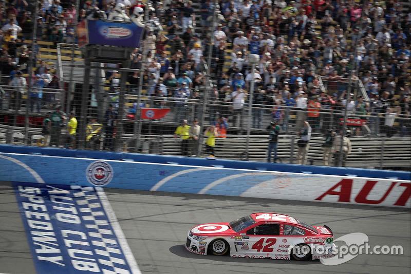 Sieg für Kyle Larson, Chip Ganassi Racing, Chevrolet