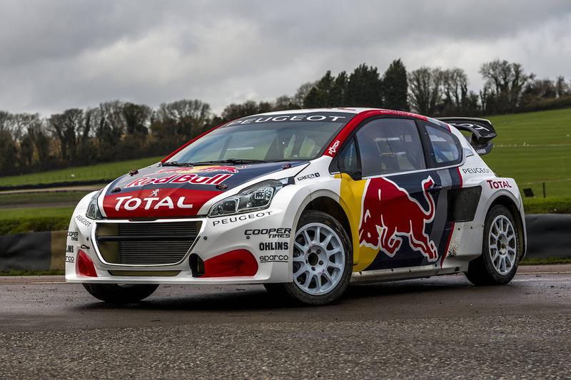 Автомобиль Team Peugeot Hansen