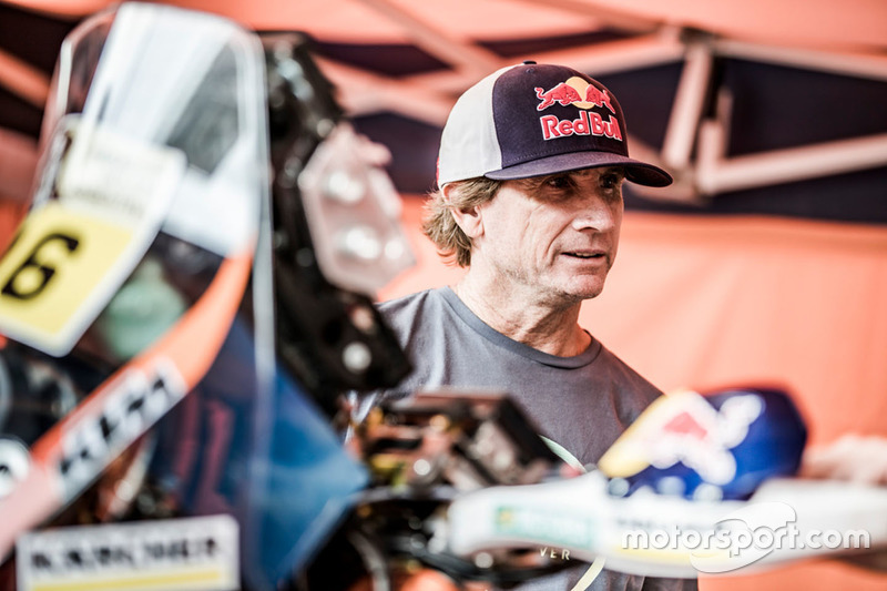 Robby Naish visits Red Bull KTM Factory Racing