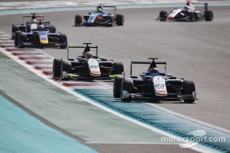 Steijn Schothorst, Campos Racing y Alex Palou, Campos Racing