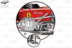 Ferrari F10 splitter