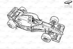 Ferrari 412T2 (647) 1995 overview